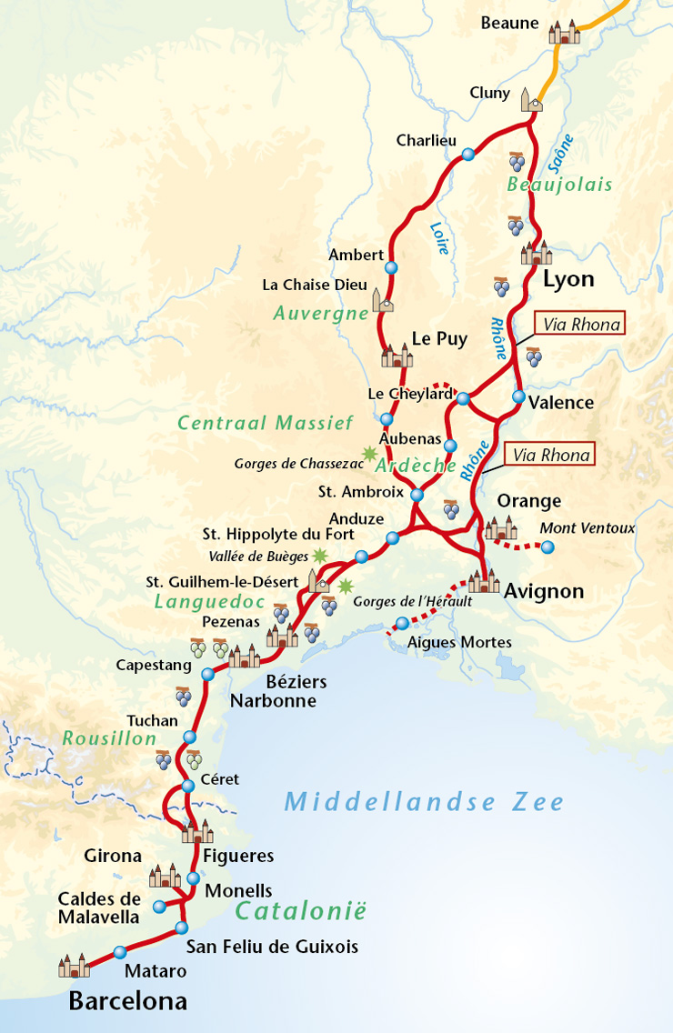 Cluny France Map.Cycling Unlimited