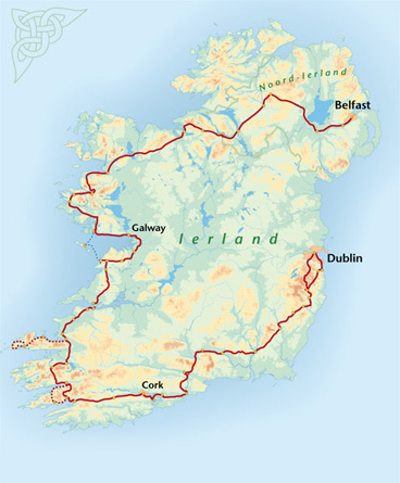 Around Ireland On A Bike Is A Cycle Route Of 1300 Kilometres Which Takes You From Belfast To Dublin Passing Through Many Of Irelands Top Highlights