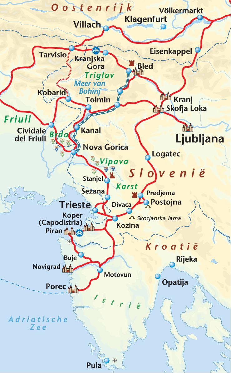 Fietsen In Istrie Met Fietsgids Van Onbegrensd Fietsen
